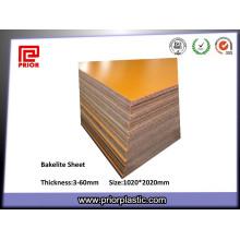 Melhor folha de papel laminada de venda da baquelita Phenolic da isolação