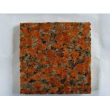 Dalles de granit rouge érable