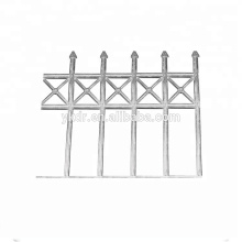 supply cast aluminum balustrade as drawing or sample as drawing or sample