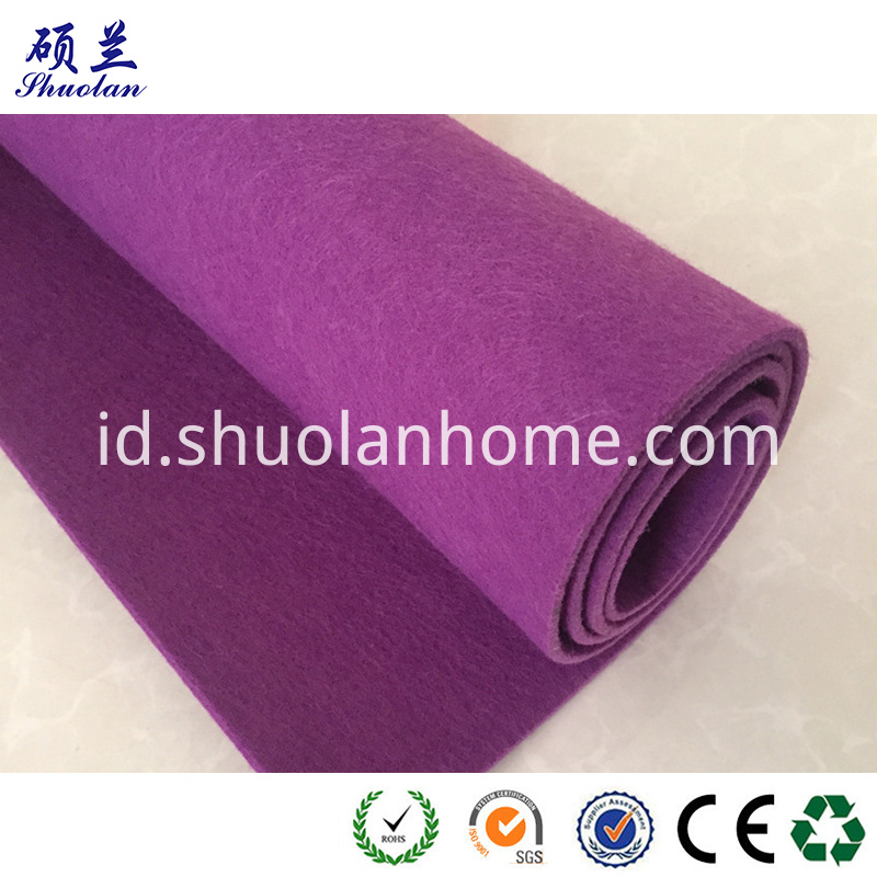 Purple Color Felt