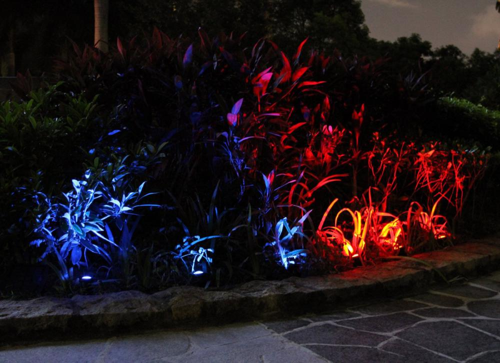 Solar Powered Underwater Pond Led Lights
