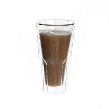 Big Discount for Double Wall Glass Coffee Cup ODM Borosilicate Double Wall Glass Cup supply to Western Sahara Factory