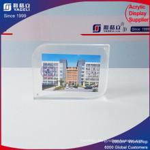 Customized Logo Lighting Beauty Magnet Acrylic Photo Frame