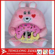 Promotional household cute animal plush tissue box