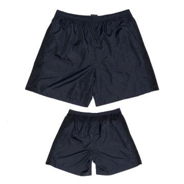 Yj-3013 Mens Red Lined Microfiber Shorts Short Sports Beach Pants