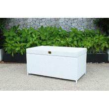 Modern Design Patio Poly Rattan Storage Cabinet Wicker Furniture