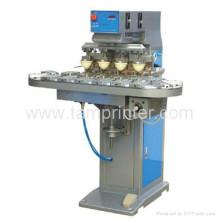 TM-C4-P 4-Farb hoch effiziente CD Tampo-Maschine mit Förderband