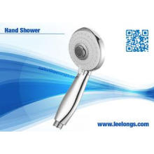 Round Traditional ABS Chrome Detachable Shower Head Hand He