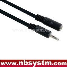 3,5-mm-Stereo-Stecker männlich zu 3,5 mm Stereo-Buchse weiblichen Verlängerungskabel
