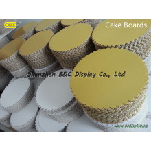 Cake Bakery Boards, Cake Hardboard Drums, Mon Cake Tray with Aluminium Paper with SGS (B&C-K082)
