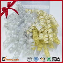 Organza Curling Ribbon Bow Curly Ribbon Roll
