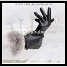 Fabricar guantes de piel de señora