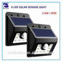 Indoor solar home light actived by motion sensor with rechargeable battery inside for garden outdoor lighting