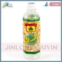 Термоусадочные этикетки для бутылок, пластиковые пленки из ПВХ, термоусадочная упаковка