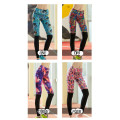 sublimazione di leggings colorati Ladies calzamaglie running