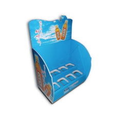 Advertising Counter Display Stand with Holes, Cardboard Display