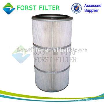 Cartucho del filtro del removedor de polvo del aire del cilindro de FORST
