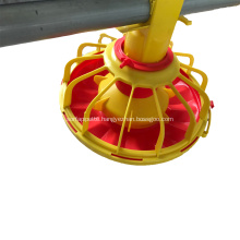 Broiler feeding line equipment
