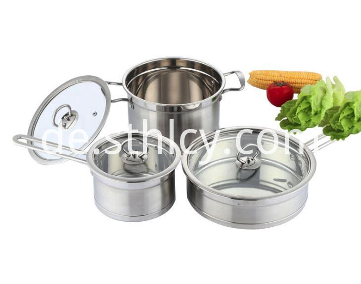 3 Pcs Cookware Sets