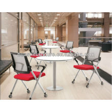 X2-03SHL Office stacking chair with wheels