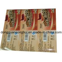 Empaquetado de helado Película de plástico / Película de embalaje para alimentos