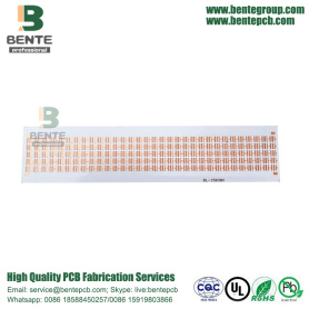 Copper Base 2 Capas PCB Metal PCB White Ink Junta gruesa