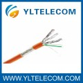 Cat.6A SFTP Transmission Blindado Cable Copper Braiding