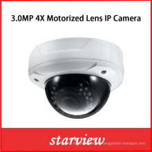 3MP 4X Motorized Lens 180 Degree Pan Network IP Camera