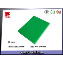 Проектируя пластичный лист PP с низкой плотностью