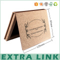 embalaje reciclado popular popular de la caja de papel de la sombra de ojos cartulina cosmética
