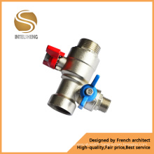 Aluminum Butterfly Handle Brass Ball Valve (TFB-040-002)