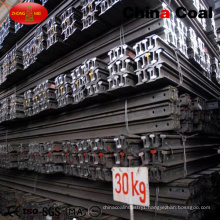 Coal Mining Q235 55q Light Steel Rail 30kg Light Rail