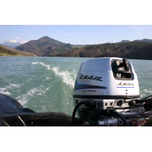 Segel 4-Takt 15 PS Außenbordmotor, E-Start und Fernbedienung