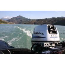 Sail 4 Stroke 15HP Outboard Motor, E-Start and Remote Control