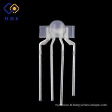 Échantillons gratuits haute qualité 4 broches 3mm clavier mécanique rgb led diode