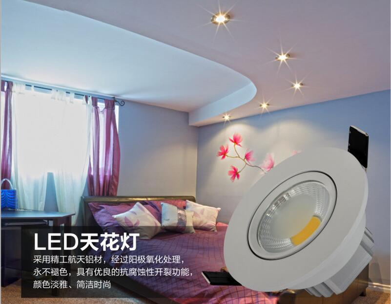 cob 5w downlight application