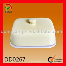 Factory direct wholesale ceramic butter dish,ceramic tapas dish,snack dish,dip dish,bisque dish,baking tray