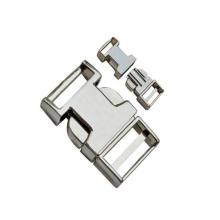 Fivela plana de liberação de metal 10mm ~ 25mm Dp-2363