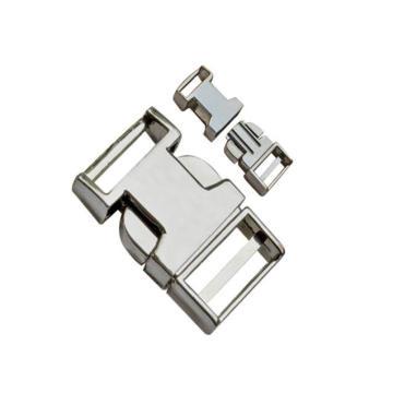 Hebilla plana de liberación de metal 10 mm ~ 25 mm Dp-2363