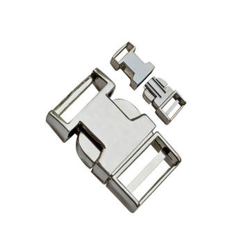 Flat Metal Release Buckle 10mm~25mm Dp-2363