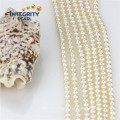 Wholesale Loose Pearl Strand 4mm AAA Culture Round Pearl Strand