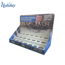 Cardboard Paper Material Skin Care Products Display Stand,Cosmetic Product Display