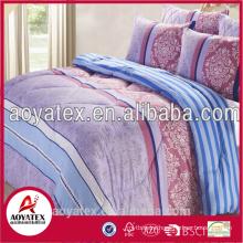 100 polyester microfiber bedding set,beautiful bed sheet sets
