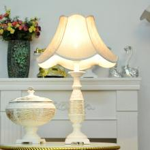 classic cloth resin table lamp