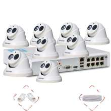H.264 1.3MP Wireless Wifi NVR Kit kalis air luar