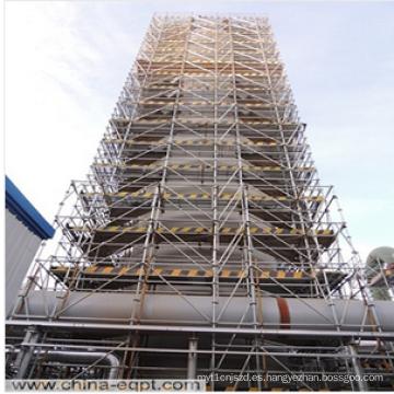 Equipo químico Andamio vertical grande