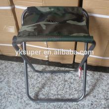 Cadeira de metal dobrável de aço / bancada de camping / cadeira de pesca
