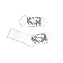 Männer Frauen Knöchel Tall Fashion Sport Socken mit Baumwolle (fss-02)