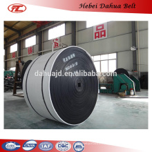 DHT-164 China factory Endless Flat conveyor Rubber Belt in agriculture