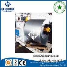 Steel anode plate sheet rolling machine
